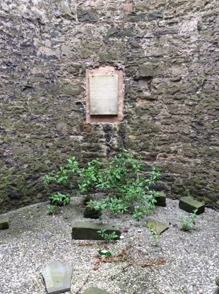 A view of the interior of David Hume's grave monument, Edinburgh, Scotland, 2014 Amy Cools