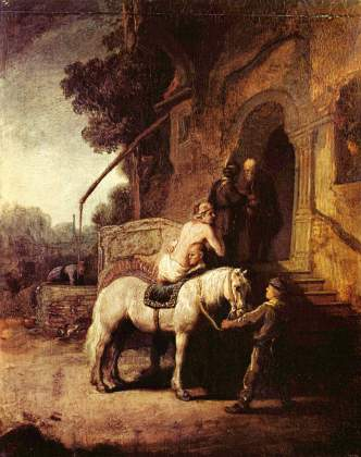 The Good Samaritan by Jean de Jullienne, 1766, after, public domain via Wikimedia Commons
