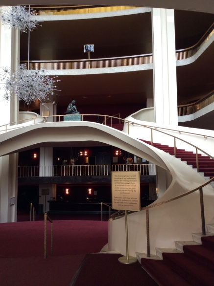 Central Stairway of the Metropolitan Opera House