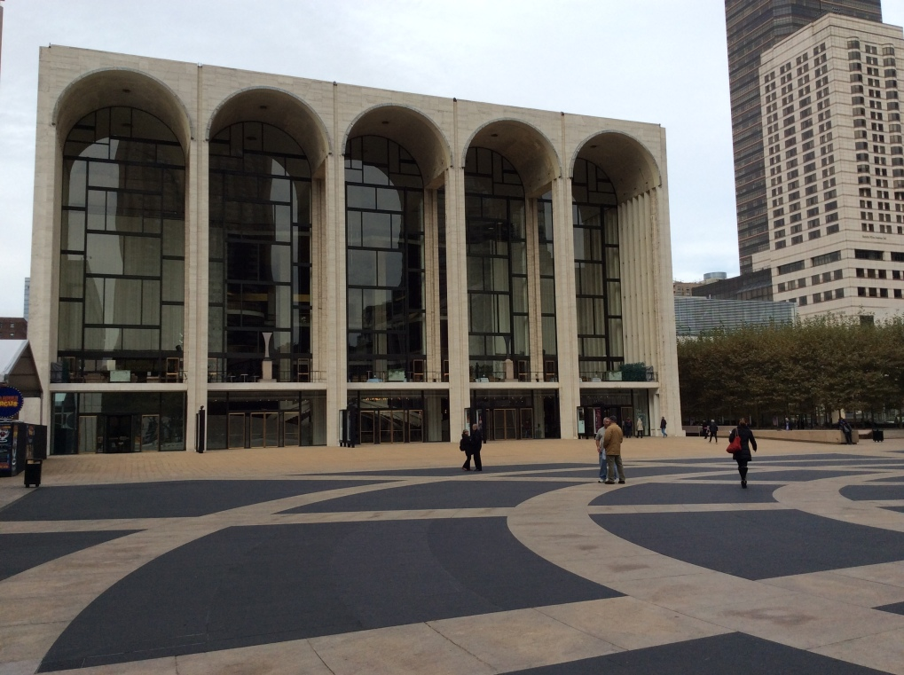 New York City's Metropolitan Opera House