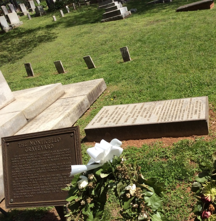 Dabney Carr's grave, first to be buried at Monticello, photo 2015 by Amy Cools.jpg