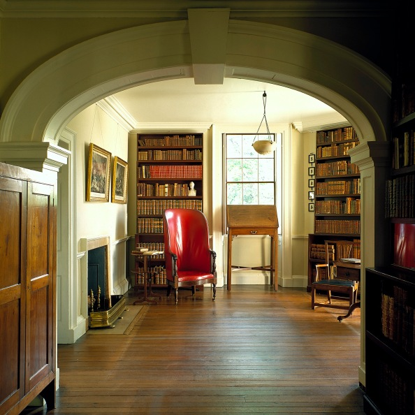 Monticello Book Room © Thomas Jefferson Foundation at Monticello