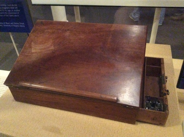 Thomas Jefferson's lap desk, on which he wrote the Declaration of Independence, 2015 by Amy Cools