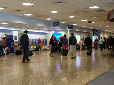 Airport Terminal in Salt Lake City, Photo 2015 by Amy Cools
