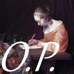 Ordinary Philosophy, Writing a letter *oil on panel *39 x 29.5 cm *signed b.c.: GTB *ca. 1655, assemblage by Amy Cools 2015