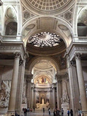 Panthéon, Temple of Reason, Paris, France, Photo 2015 by Amy Cools