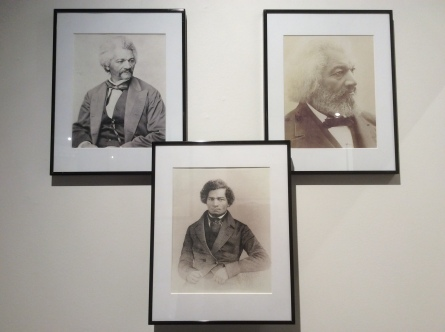3 Portraits of Frederick Douglass at Lynn Museum, 2016 Amy Cools