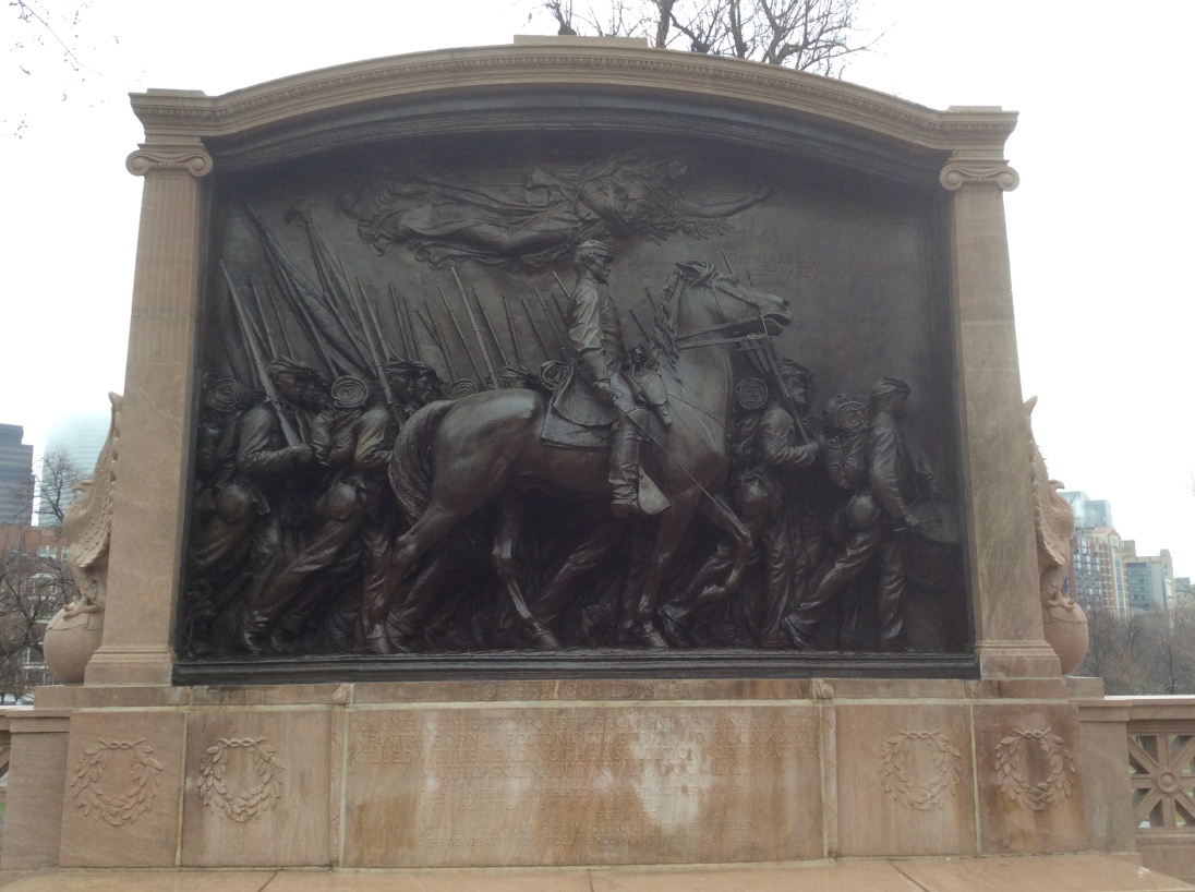 54th Regiment Memorial, Boston Common, 2016 by Amy Cools