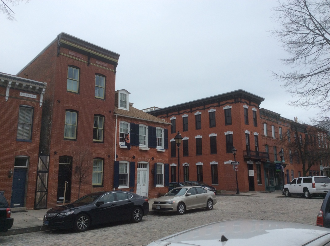 Bond St at Shakespeare, Fell's Point, Baltimore MD, photo 20156 by Amy Cools