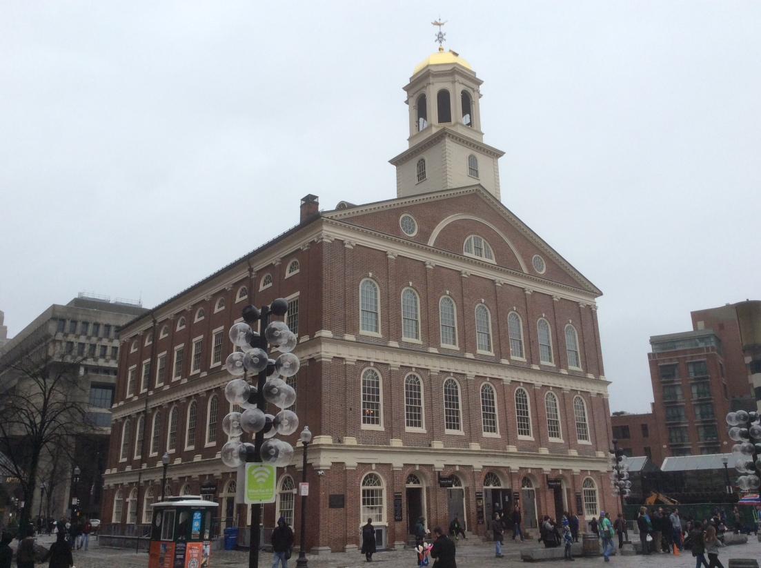 Faneuil Hall, Boston, Massachusetts