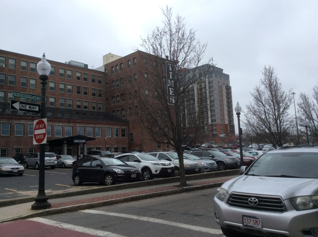 Frederick Douglass Way, formerly Ray St where the Douglasses lived at number 111, New Bedford MA