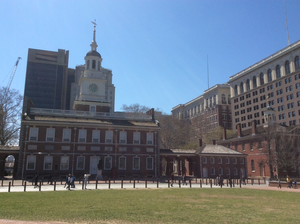 Independence Hall, Old City Philadelphia, 2016 by Amy Cools