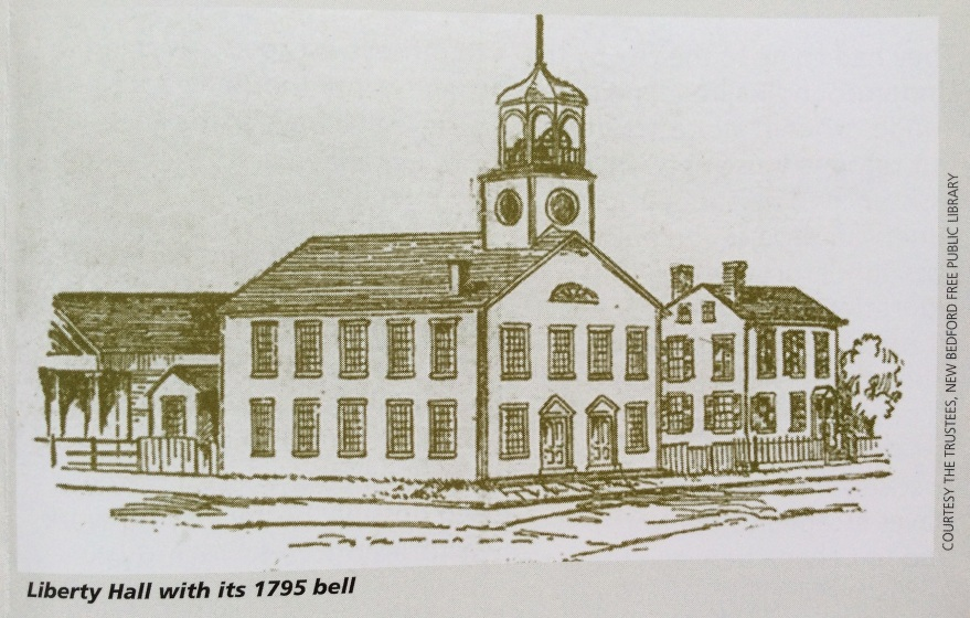 Liberty Hall illustration from NPS Underground Railroad - New Bedford Brochure