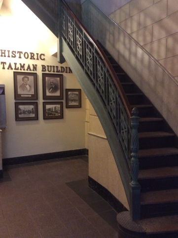 Lobby of the Talman Building. Frederick Douglass' North Star offices were on the second floor