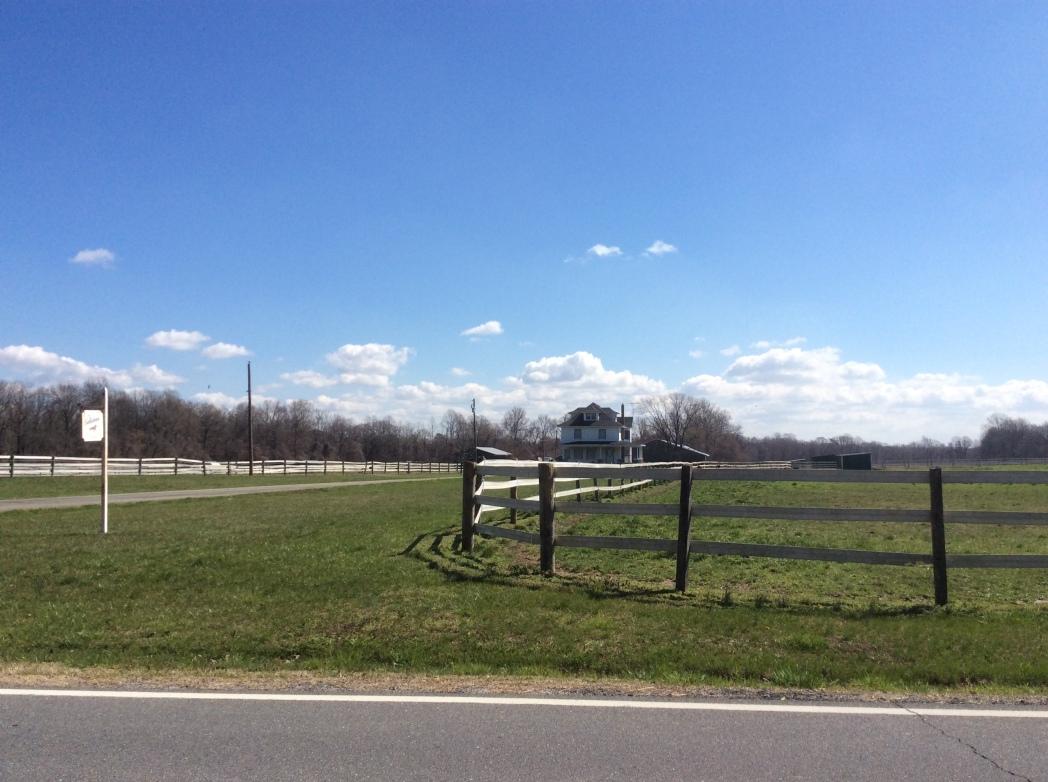 Aaron Anthony's farm, later Ebenezer Jackson's, now horse farm, Easton MD