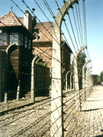 Birkenau (Nazi concentration camp where medical experiments were performed on prisoners) by Scotch Mist - Own work - creative commons license, via Wikimedia Commons