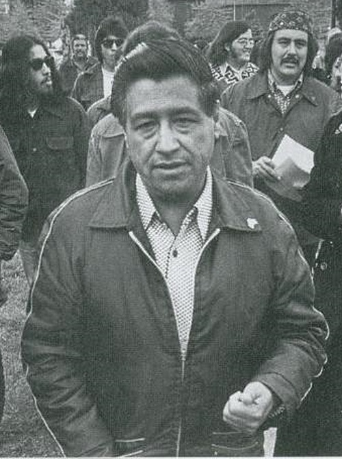 Cesar Chavez visits college - By Movimiento - Own work, cropped - CC BY-SA 3.0 httpcreativecommons.orglicensesby-sa3.0 via Wikimedia Commons