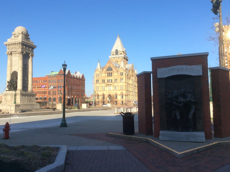 Clinton Square and Jerry Rescue Monument, Syracuse NY