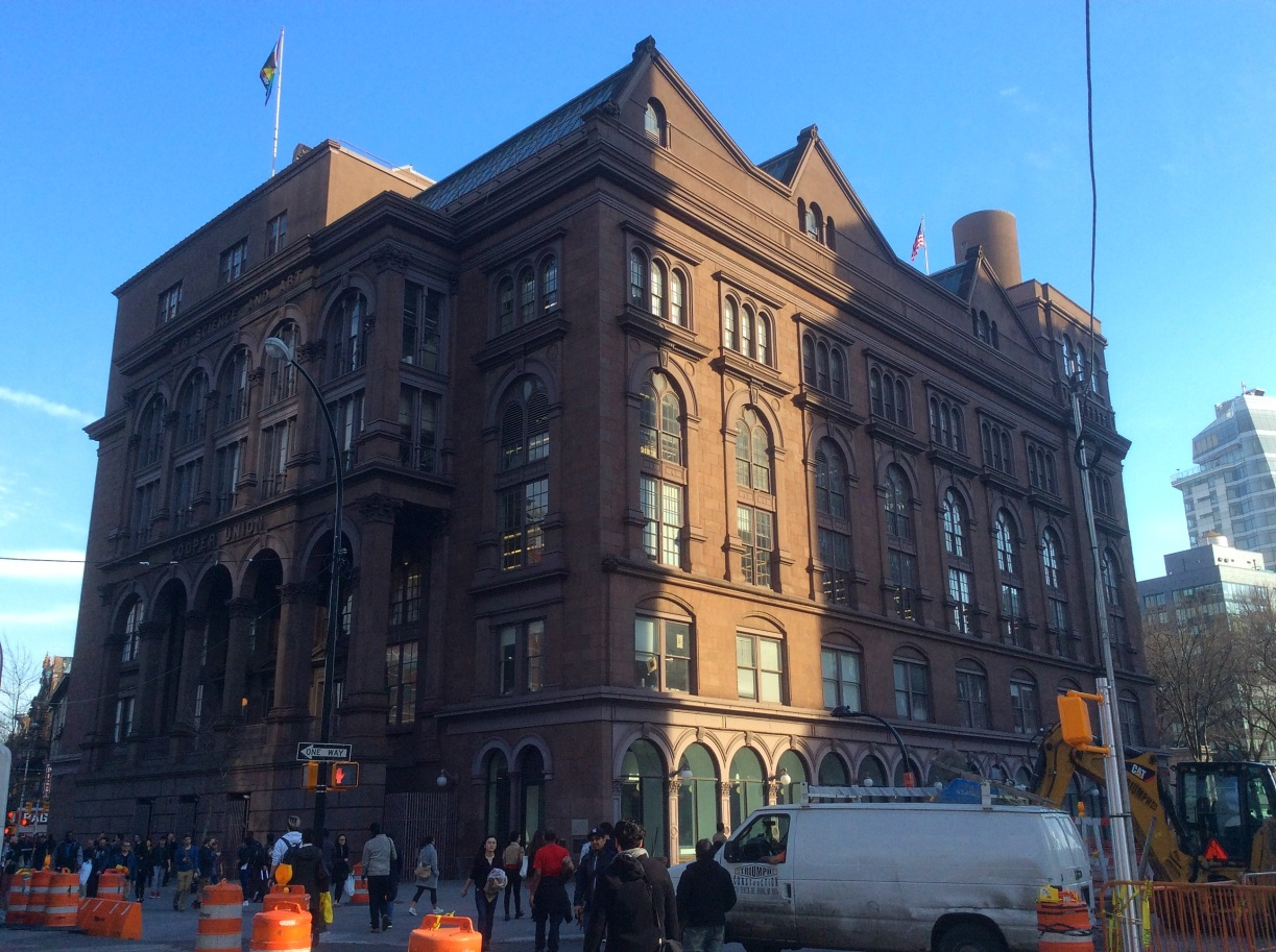 Cooper's Union at Cooper Square and Astor Place, NYC