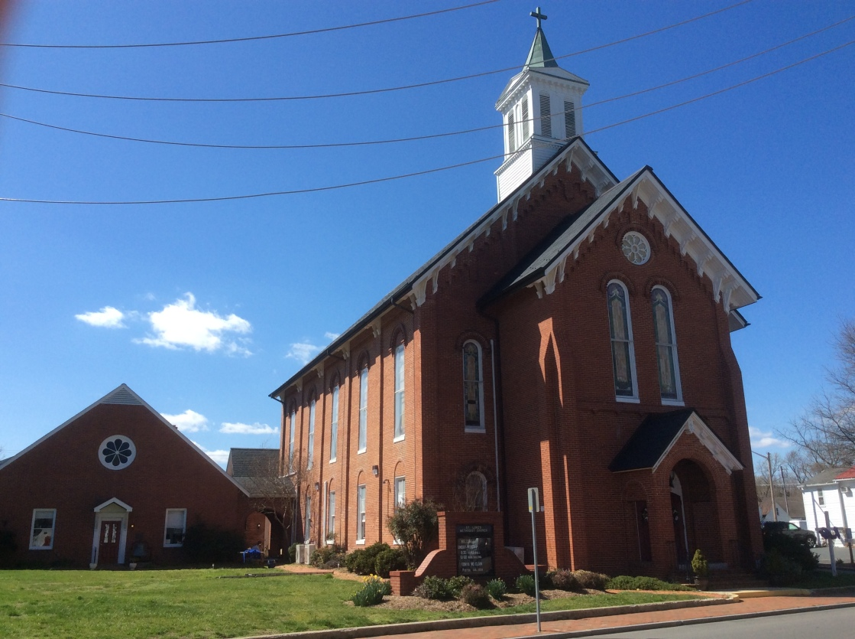 Old St Luke's Methodist Church in St Michael's, MD