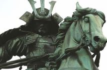 samurai-on-horseback-statue