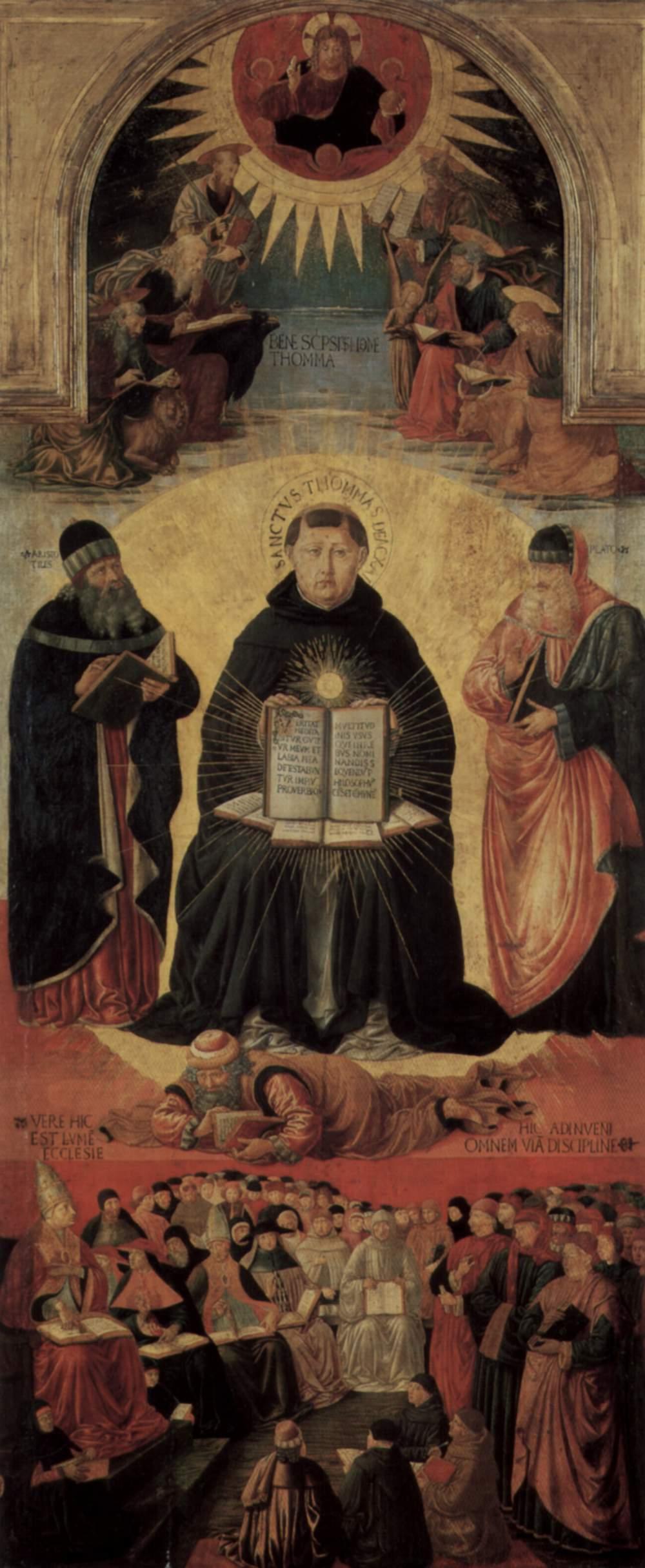 Aquinas Averroes and Scholastics