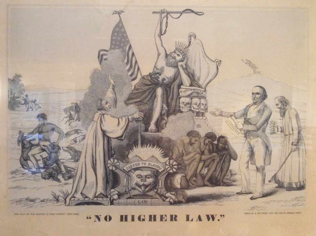 No Higher Law Abolitionist Poster, Lynn Museum, 2016 Amy Cools