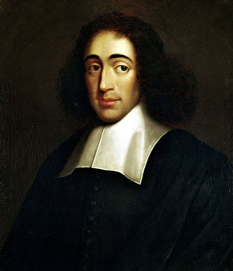 Portrait of Baruch de Spinoza (1632-1677), ca. 1665, by an unknown artist