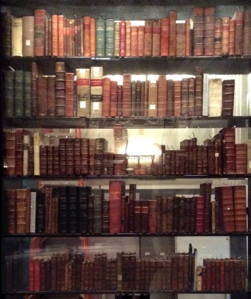Jefferson's Book Collection at the Library of Congress (cropped), photo 2016 by Amy Cools