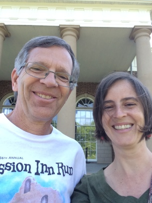 John and Amy Cools at Monticello, 2015 by Amy Cools