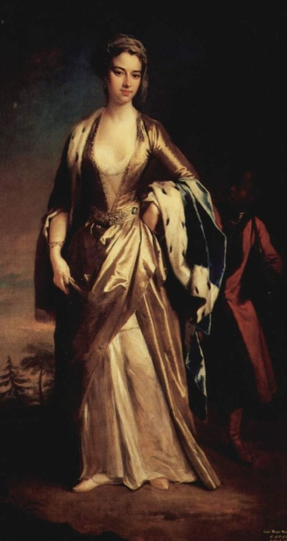 Mary Wortley Montagu by Jonathan Richardson the Younger (cropped), public domain via Wikimedia Commons