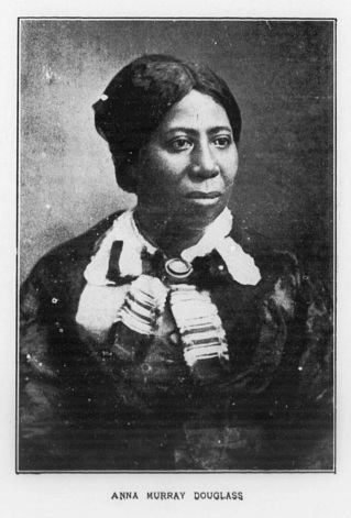 Anna Douglass circa 1860, image from the Library of Congress collection