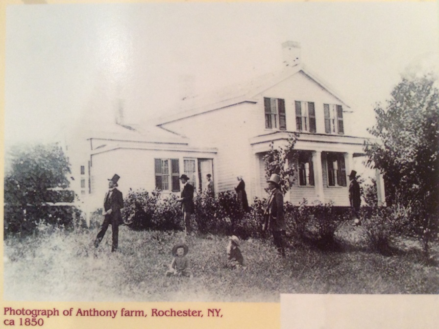 Anthony Family Farm photo, Susan B. Anthony House Museum, Rochester NY