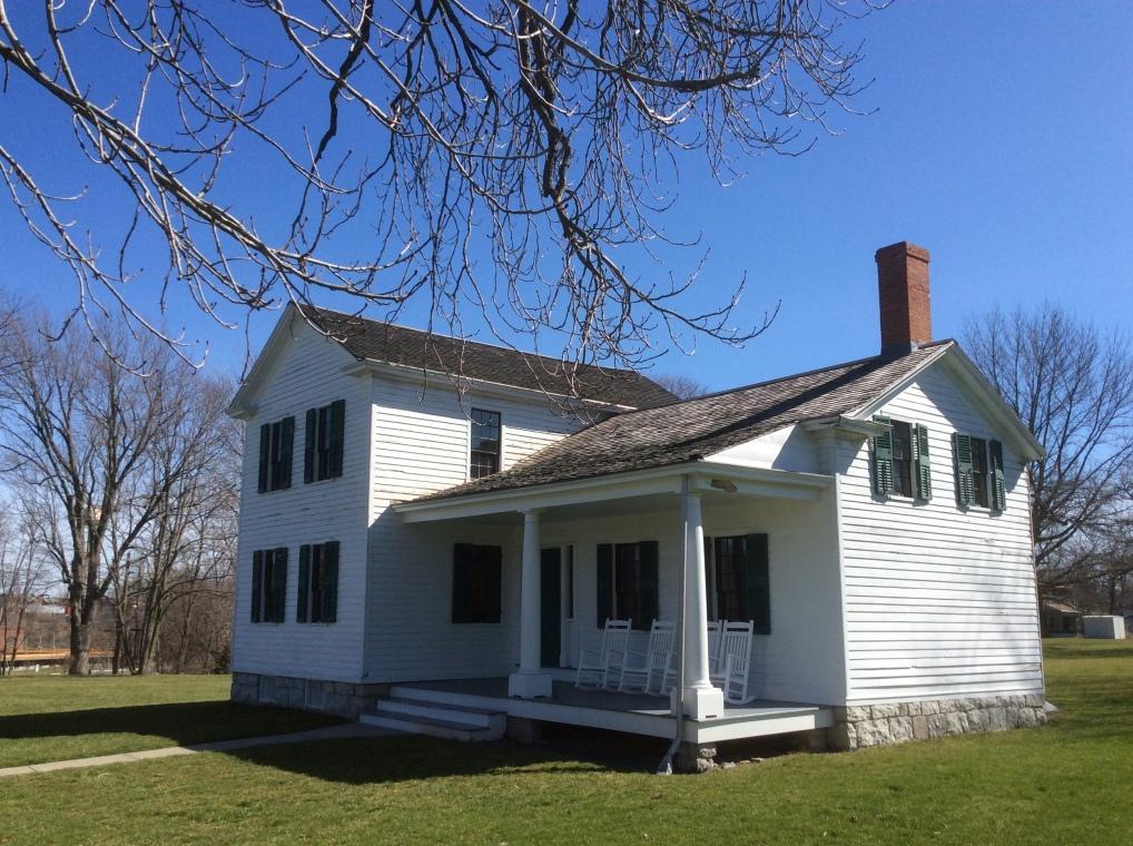 Elizabeth Cady Stanton's house in Seneca Falls, NY