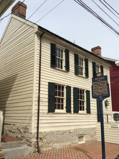 A view of the John Brown House in Chambersburg, PA