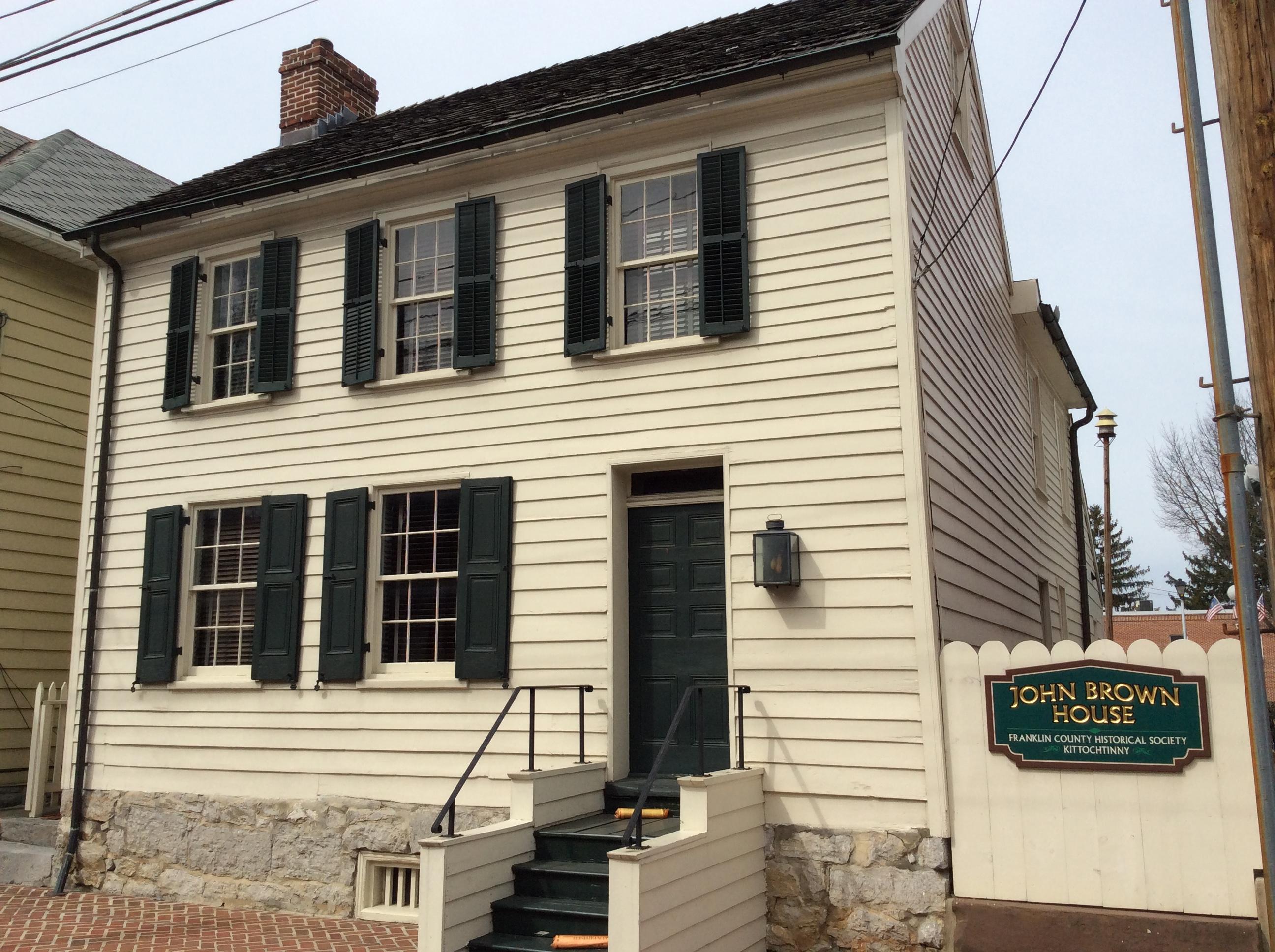 John Brown House (2) in Chambersburg, PA