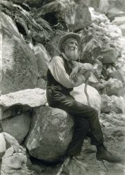 John Muir in 1907, by Professor Francis M. Fritz