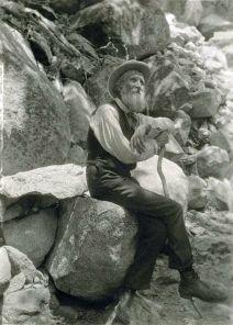 John Muir in 1907, by Professor Francis M. Fritz