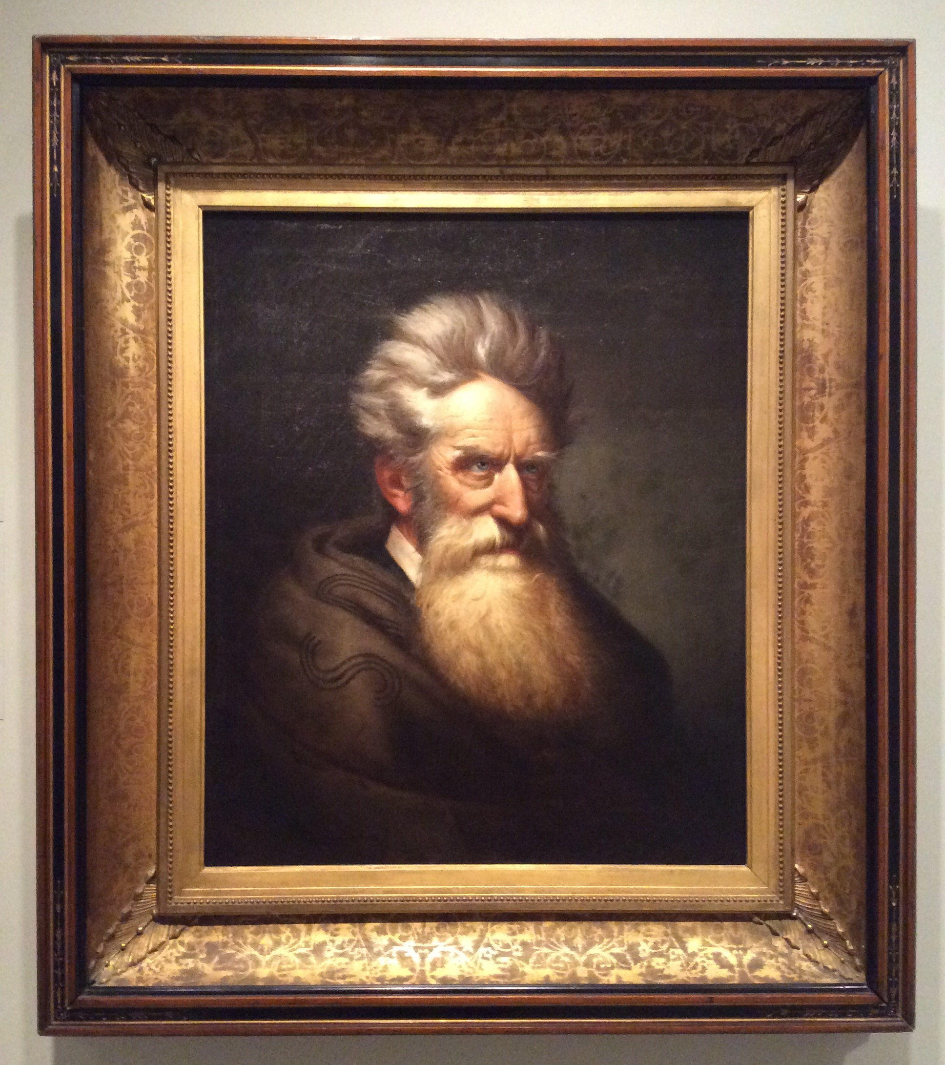 Portrait of John Brown by Born Torrington in National Portrait Gallery
