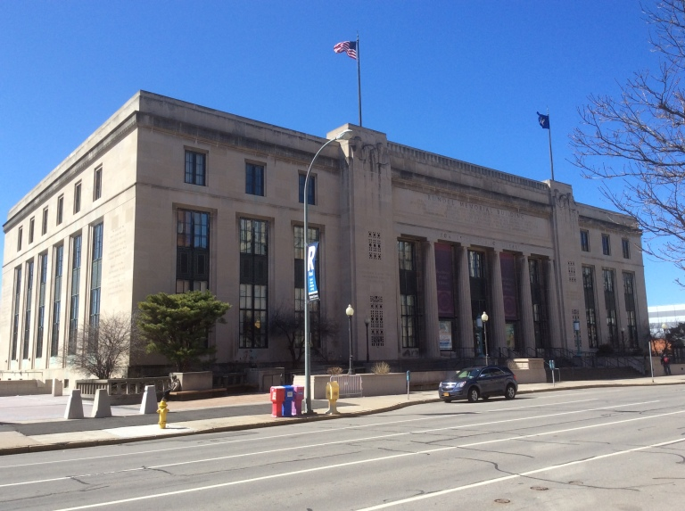 Rundell Building, Central Library of Rochester and Monroe County