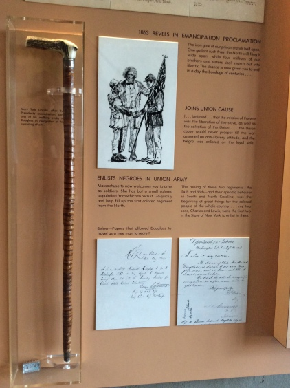 Abraham Lincoln's walking stick, Mary Todd Lincoln's gift to Frederick Douglass
