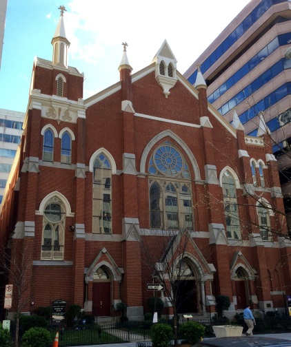 AME Methodist Church at 1518 M St NW