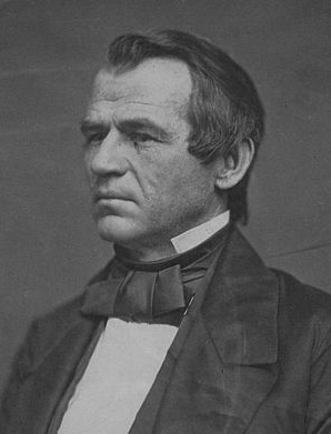 Andrew Johnson in 1860. Yes, I agree, he looked a lot like Tommy Lee Jones