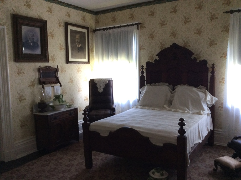 Anna Douglass's bedroom, Cedar Hill