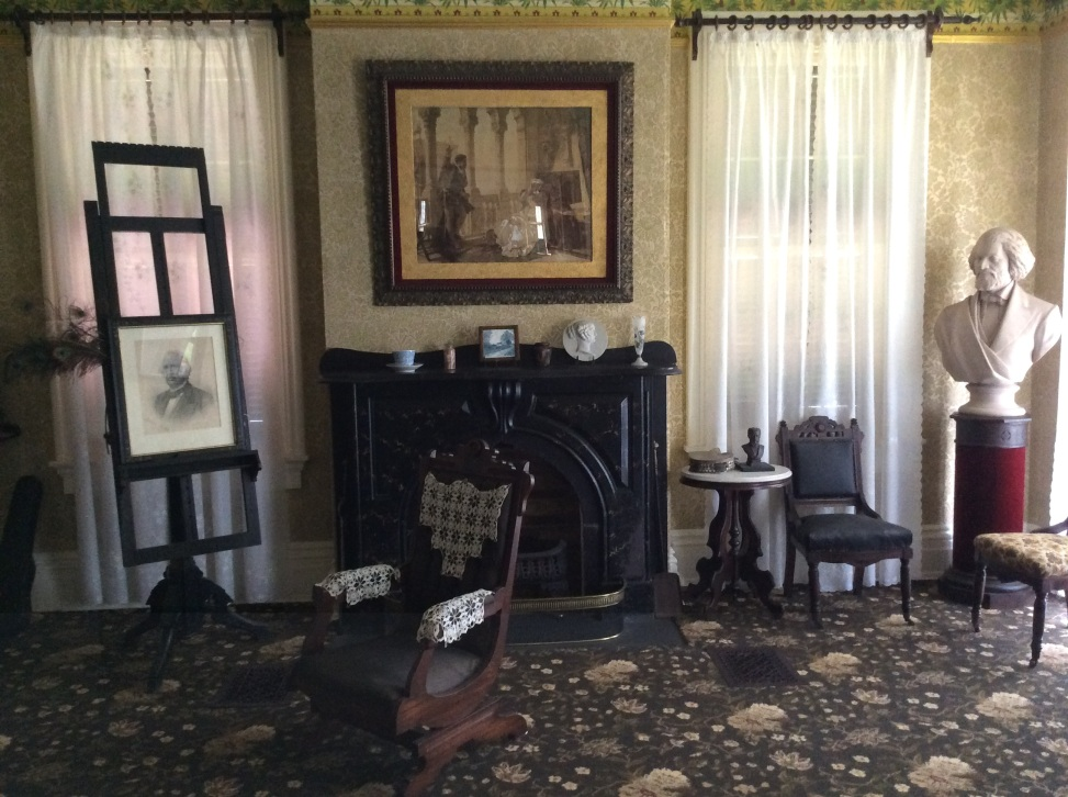 Douglass family sitting room at Cedar Hill, Anacostia