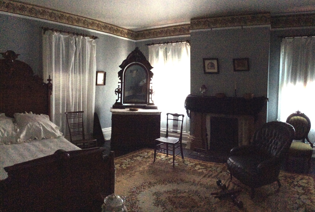 Frederick Douglass' bedroom