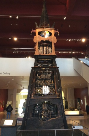 Millenium Clock, National Museum of Scotland, Edinburgh, 2014 by Amy Cools