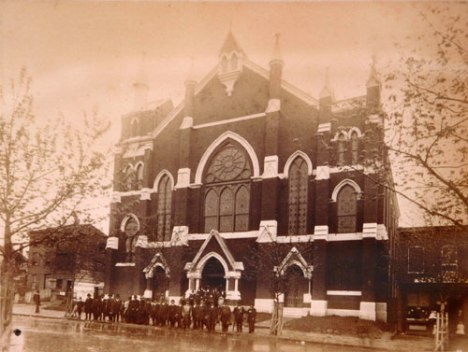 Photo of AME Metropolitan Church by Charles Frederick Douglass, 1900, via NPS website
