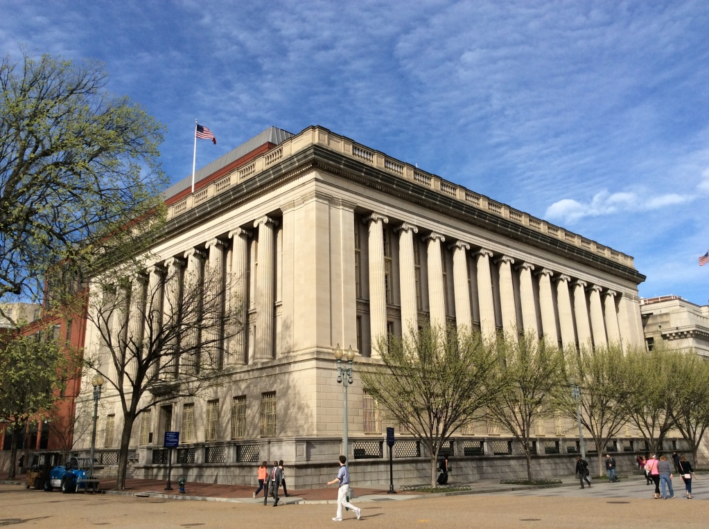 US Treasury Annex renamed the Freedmen's Bank Building, 1503 Pennsylvania Ave
