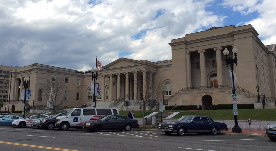D.C. Court of Appeals, formerly City Hall, Washington, D.C.